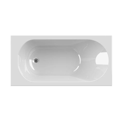 Baignoire rectangulaire Allibert Diva 140x70x52,5-54cm blanche