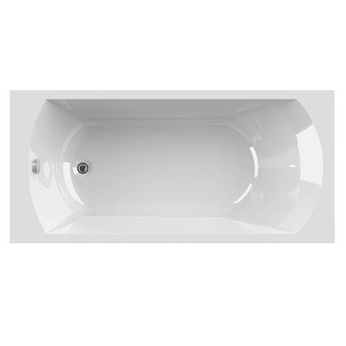 Baignoire rectangulaire Allibert Diva 170x80x52,5-54cm blanche