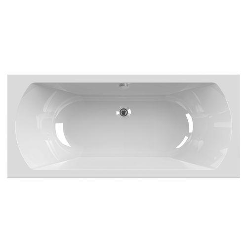 Baignoire rectangulaire Allibert Diva Duo 180x80x52,5-54cm blanche
