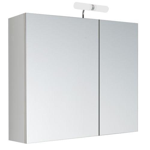 Allibert spiegelkast Kle'o 60cm wit mat