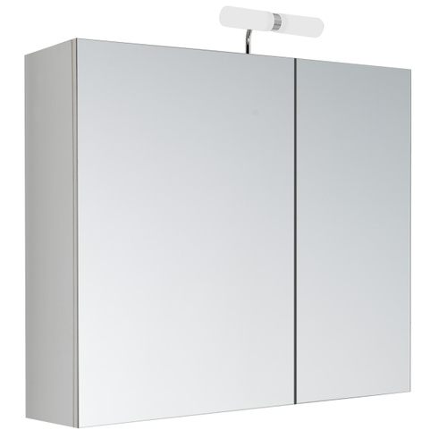 Allibert spiegelkast Kleo met verlichting 60x52x18cm