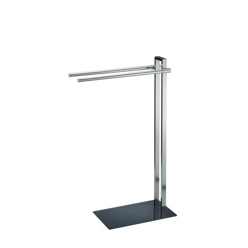 Porte-serviette Allibert Verry 2 barres chrome brillant