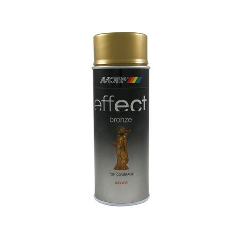 Peinture en spray MoTip Deco Effects or brillant 400 ml