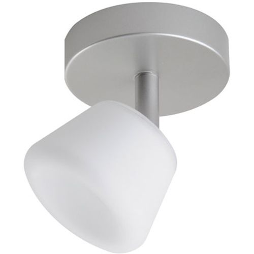 iDual Emerald LED plafondlamp 1 spot dimbaar nikkel geverfd