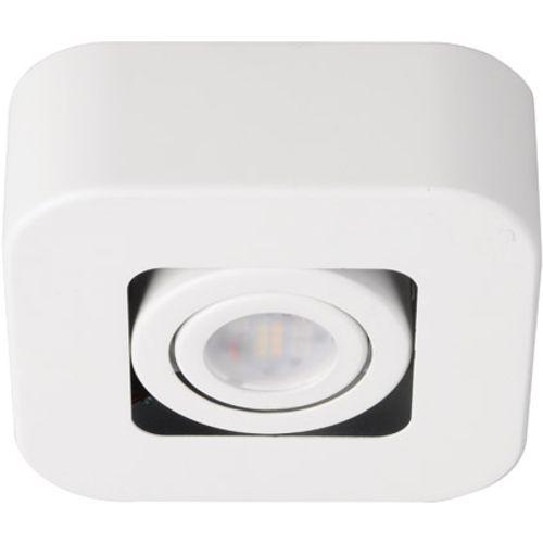 iDual Krypton LED plafondlamp 1 spot dimbaar wit poedercoating