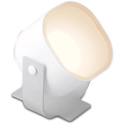 Lampe à poser avec télécommande Jedi 'iDual Lilac' blanc 16W