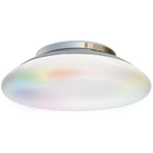 iDual Volta LED badkamer plafondlamp chrome dimbaar met afstandsbediening
