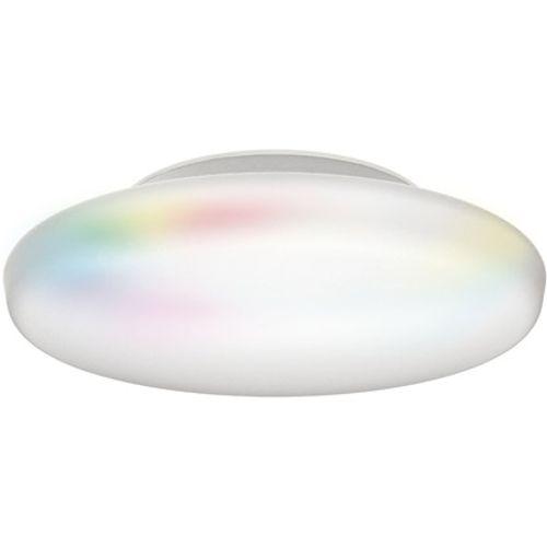 iDual Chloe LED badkamer plafondlamp aluminium geverfd dimbaar met afstandsbediening