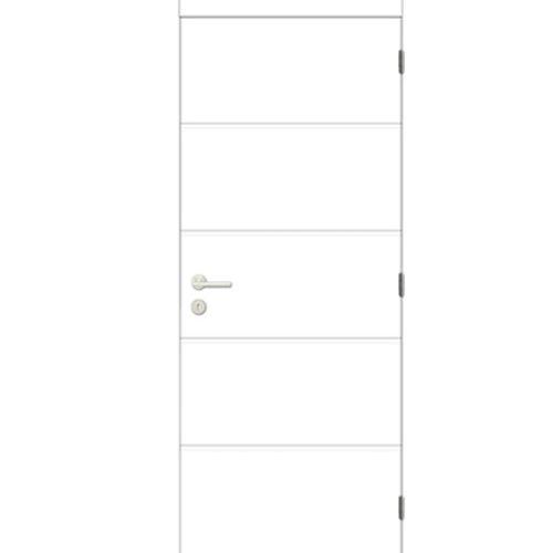 Bloc-porte complet à peindre Thys 'Moderne' 83cm