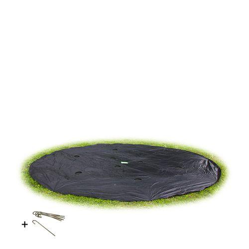 Bâche de protection pour trampoline encastré Exit 'Supreme' ø 366 cm rond