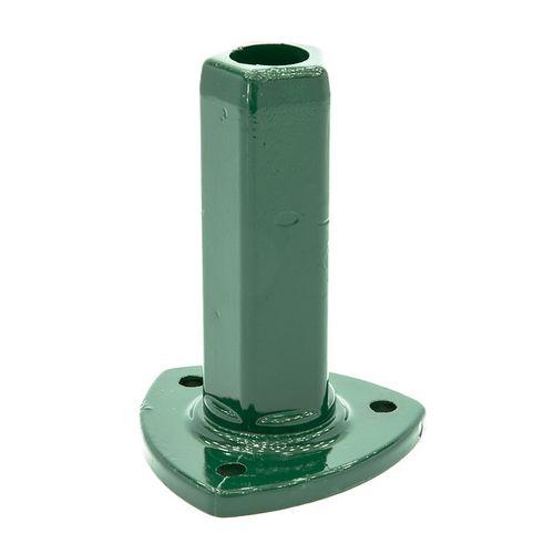 Pied pour poteau conique Giardino vert 60 mm
