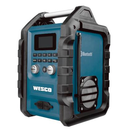 Wesco werfradio zonder accu WS2894K 18V