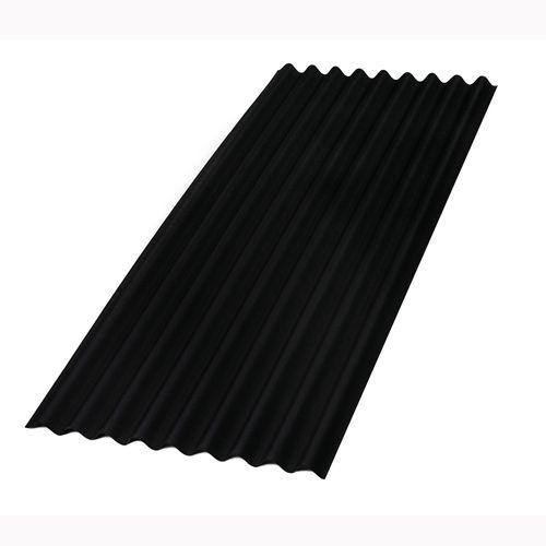 Aquaplan bitumen golfplaat 'Topline' zwart 200 x 86 cm