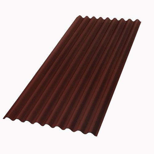 Aquapalan bitumen golfplaat Topline rood 200 x 86 cm