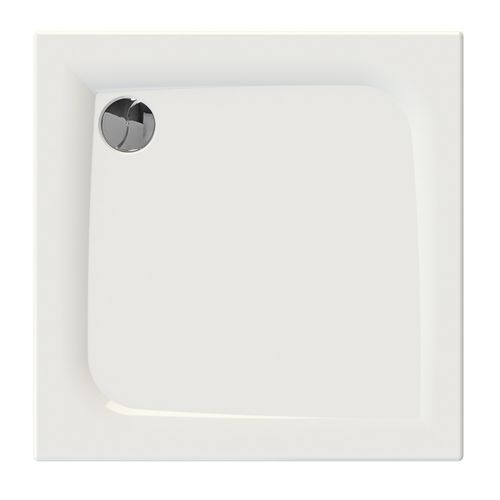 Allibert douchebak Jacana2 vierkant 80x80x3cm wit glanzend