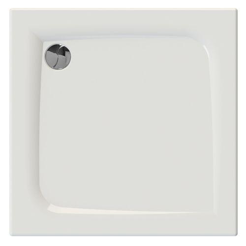 Allibert douchebak Jacana2 vierkant 90x90x3cm wit glanzend