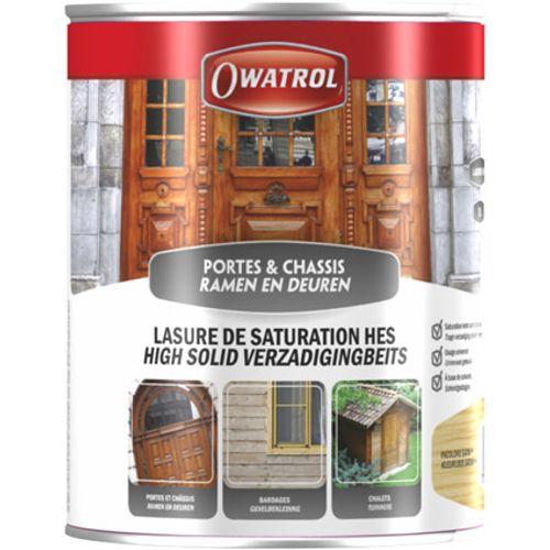Lasure de saturation Owatrol chêne moyen 2,5L