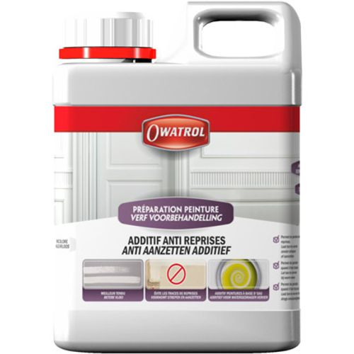 Owatrol additief verf 'Anti-aanzetten' kleurloos 1 L