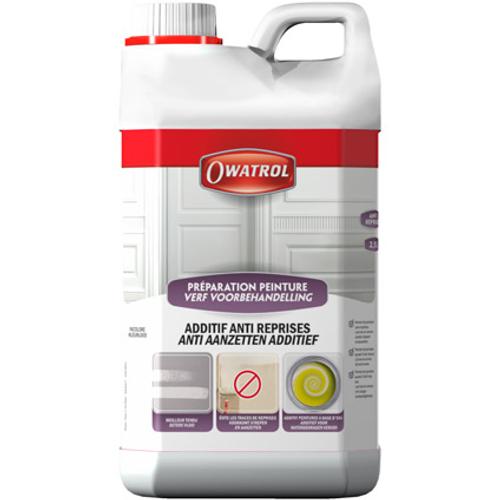 Additif peinture Owatrol 'Anti-reprises' incolore 2,5 L