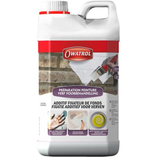 Additif peinture Owatrol 'Fixateur' incolore 2,5 L