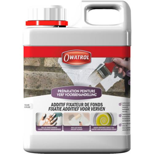 Additif peinture Owatrol 'Fixateur' incolore 1 L