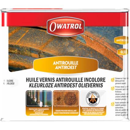 Vernis antirouille Owatrol incolore 500ml
