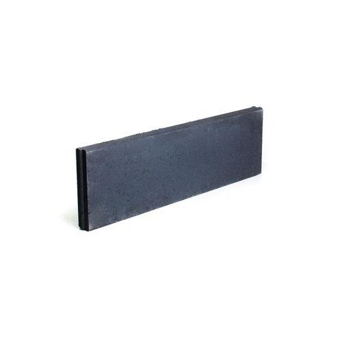 Bordure béton Coeck 100x30x6cm noir T&M
