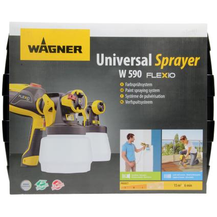 Pulvérisateur Wagner HVLP universel W 590 Flexio