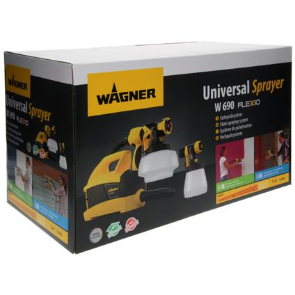 Pulvérisateur Wagner HVLP universel W 690 Flexio