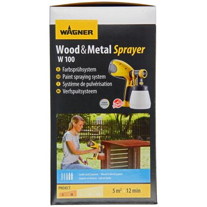 Pulvérisateur Wagner HVLP bois et métal W 100