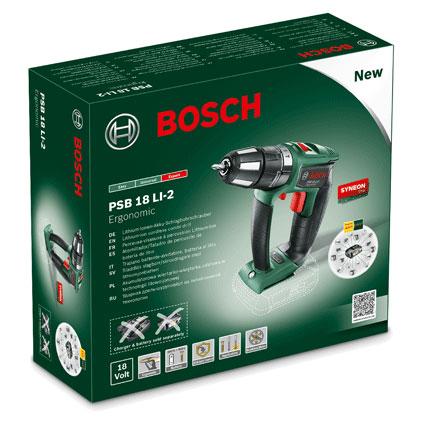 Bosch accuklopboormachine PSB18LI-2 Ergonomic Bare Tool