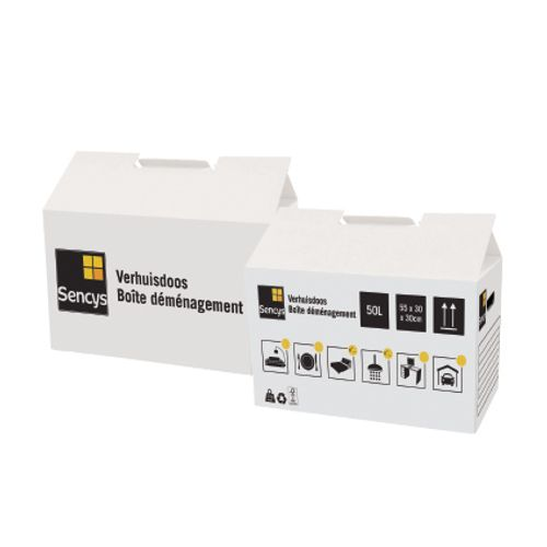 Boîte de déménagement Sencys 50L - 1 pcs