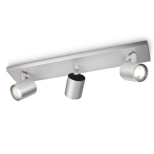 Philips spot Runner aluminium 3xGU10