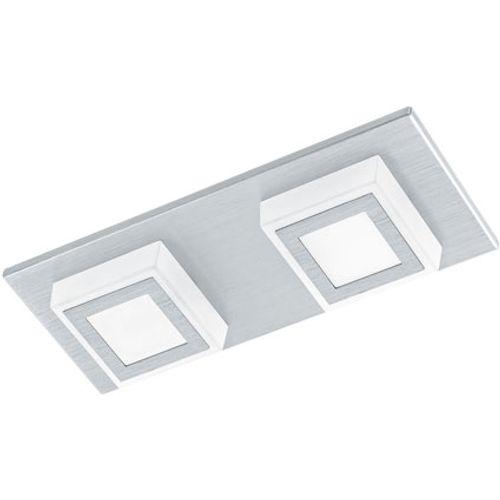 Eglo plafondlamp 'Masiano' aluminium 2x3,3W