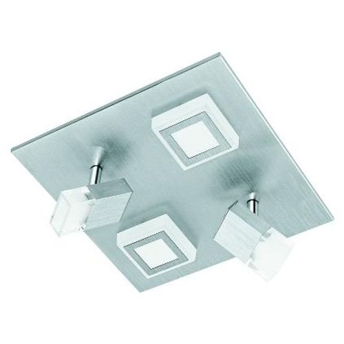 Eglo plafondlamp 'Masiano' aluminium 17,4W