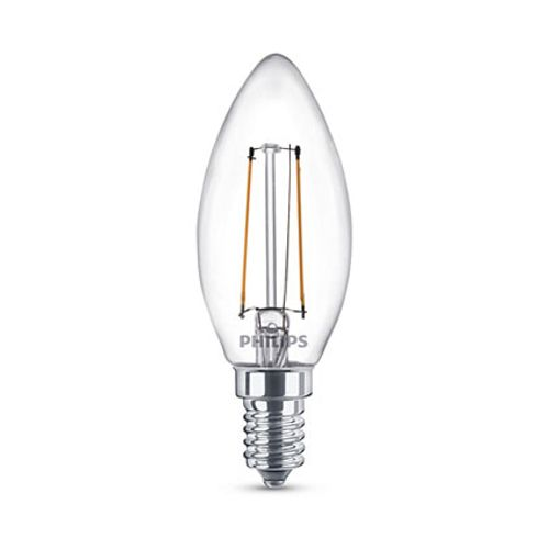 Ampoule LED Philips 'B35' 2W – 3 pcs