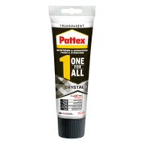 Colle de montage Pattex 'One for All Crystal' transparent 90g