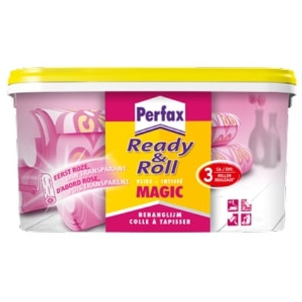 Perfax behanglijm Ready&Roll Magic vlies 2,25kg