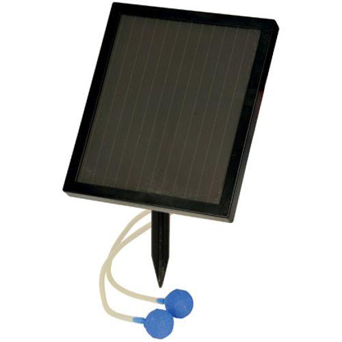 Hozelock luchtpomp op zonne-energie inclusief luchtstenen, slang en terugslagventielen