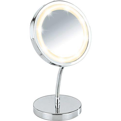 Wenko spiegel Brolo LED staand 15cm