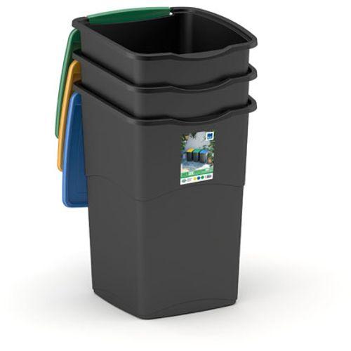 Kis vuilsnisbak recycle 'Koral' 47 L - 3 stuks