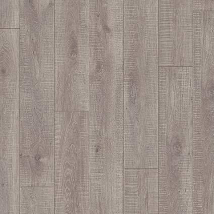 Sol stratifié Quick-Step Preciosa chêne gris foncé 7mm 1,824m²