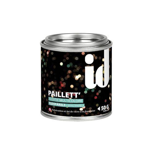 Glitters additief Paillett' multicolor 50gr