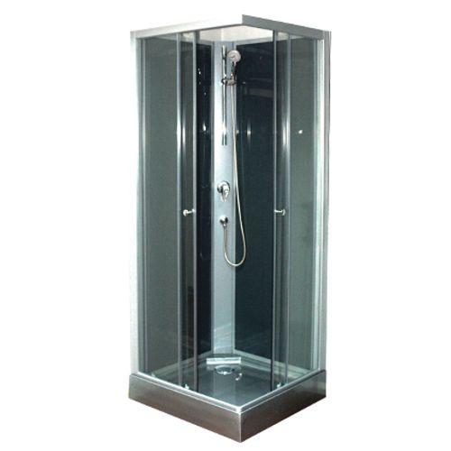 Cabine de douche Aqua plus 'Camille' 206,5 x 80 cm