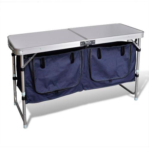 Campingkastje met aluminium frame