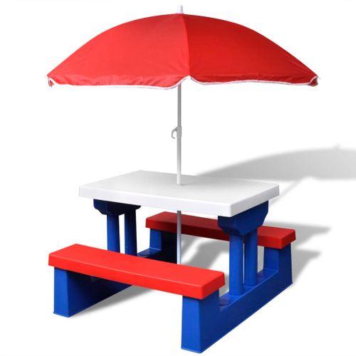 VidaXL picknicktafel kinderen
