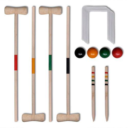 Croquetspel voor 4 spelers