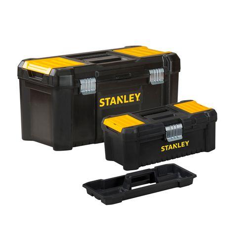 Set de 2 boîtes à outils Stanley 'Essential'