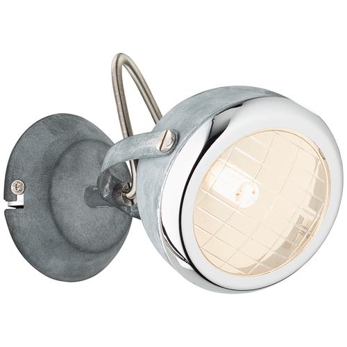 Brilliant spotlamp 'Rider' grijs 33W
