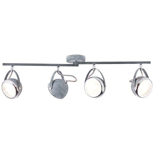 Brilliant spotlamp 'Rider' grijs 4x33W